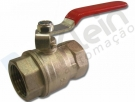 Lever Ball Valve with Manual